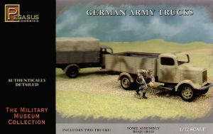 PH7610 WWII German Army Truck x 2
